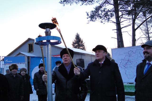 В Любытинский район пришел природный газ