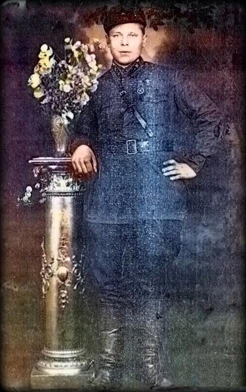 Михаил Дмитриевич Давыдов, 1940 год
